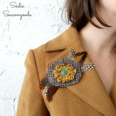 Unbelievably Gorgeous Reclaimed Furniture Brooches