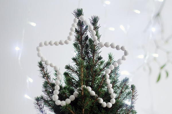Beaded Star DIY Tree Topper