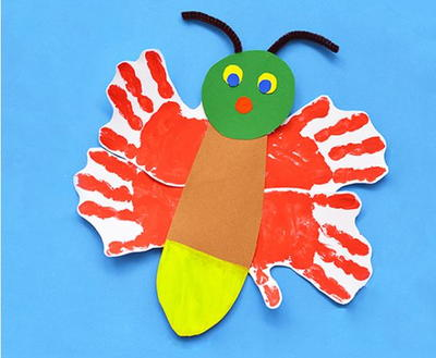 Fun Eric Carle-Inspired Glowing Firefly Craft