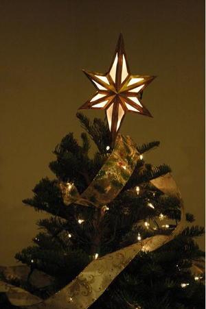 Lighted Star Diy Tree Topper Diyideacenter Com