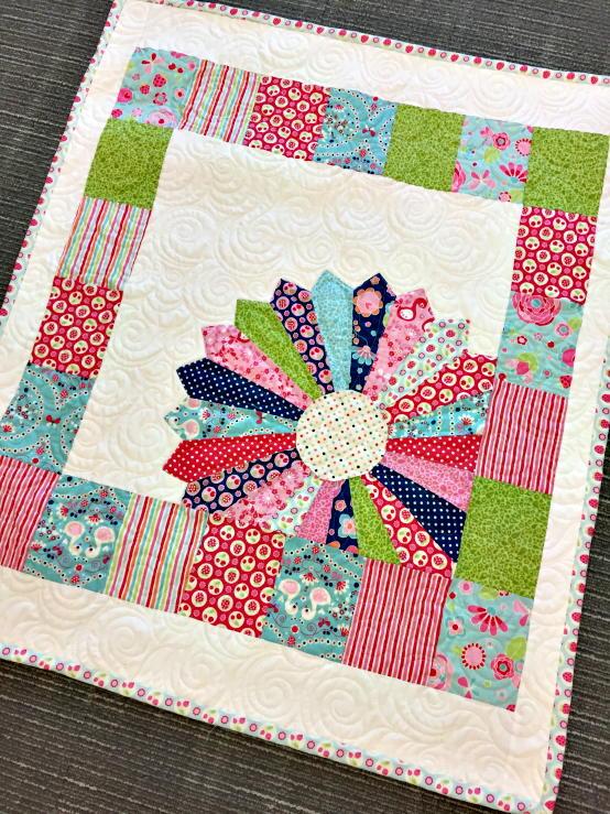 Dresden Baby Quilt Pattern Favecrafts Com