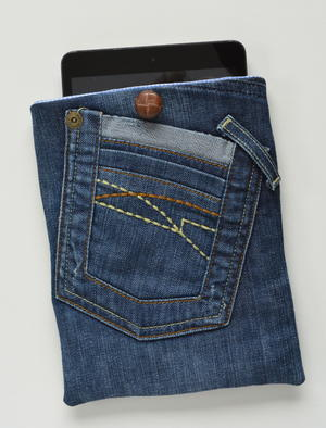 Denim Tablet Case Tutorial