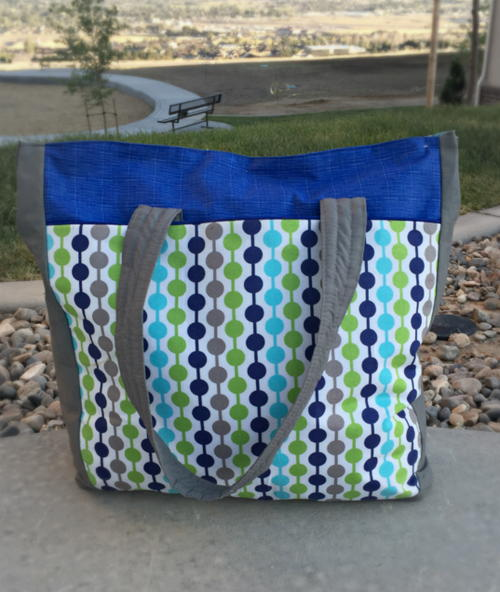 Urban Traveler Tote Bag