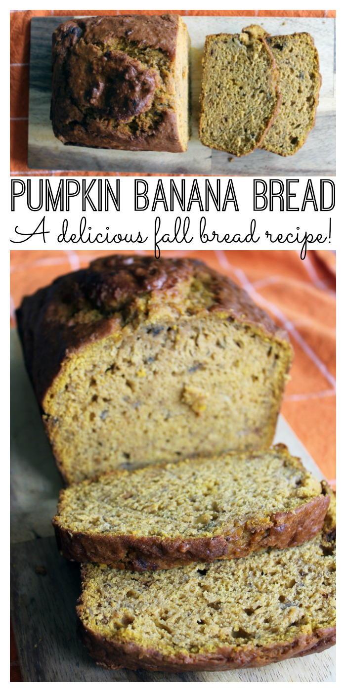 Pumpkin Banana Bread Recipe Favesouthernrecipes Com