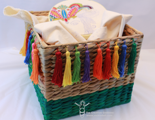 Colorful and Cute Basket