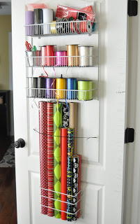 Gift Wrap DIY Organizer Solution