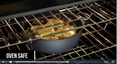 Swiss Diamond Nonstick Casserole Pot Video