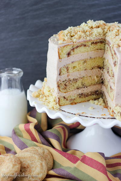 4-Layer Snickerdoodle Cake Recipe