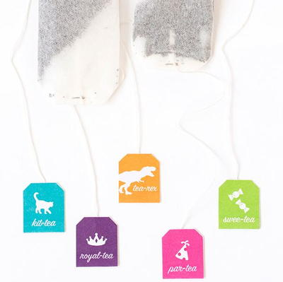 Punny Printable Tea Bag Tags