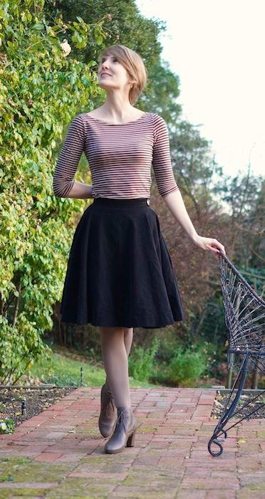 Little Black Skirt Tutorial