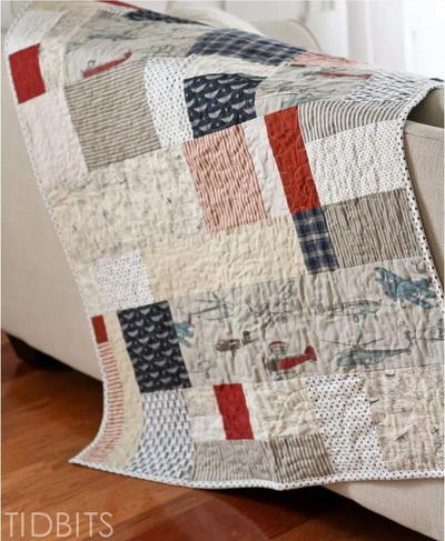 Simple Lazy Quilt Tutorial