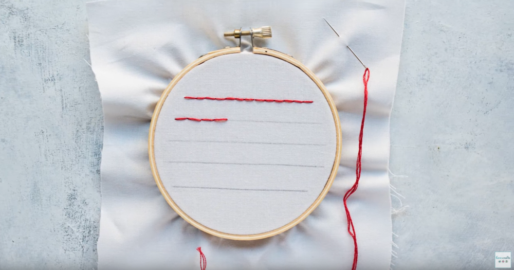Straight Stitch Embroidery Technique Favequilts Com