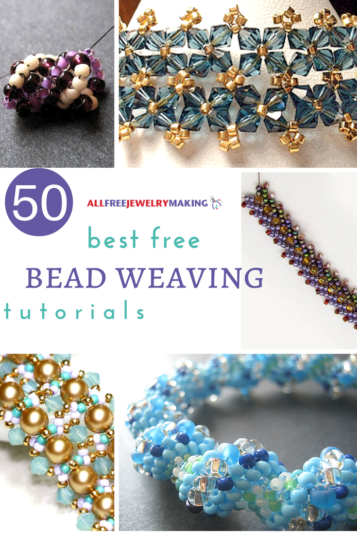 50 best free bead weaving patterns allfreejewelrymaking