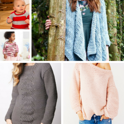 Free Knit Sweater Patterns Allfreeknitting Com
