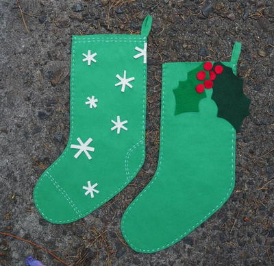 Fun Kids Christmas Stocking Pattern