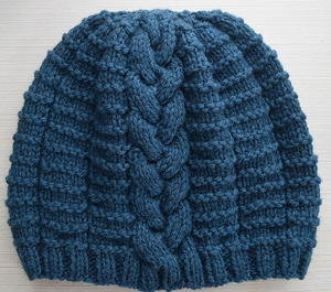 Blissful Braided Beanie