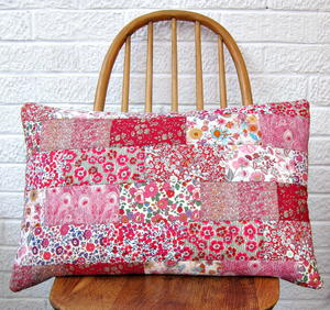 Valentine's Patchwork Cushion Tutorial