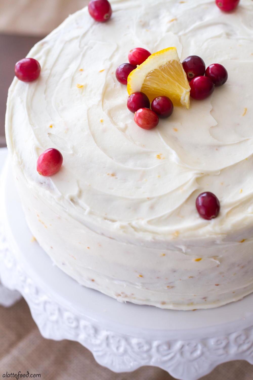 Cranberry Orange Cake Favesouthernrecipes Com