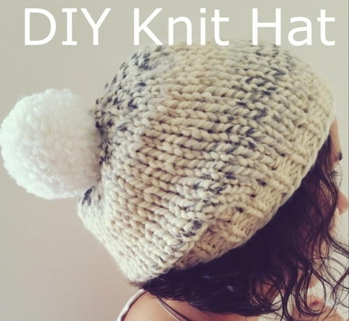 Marshmallow Fluff Chunky Hat