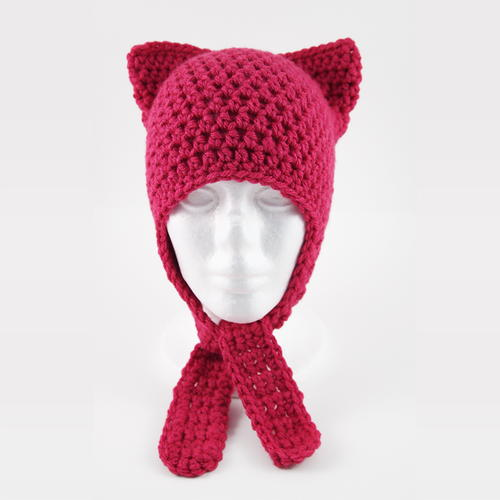 Cute and Easy Crochet Cat Hat