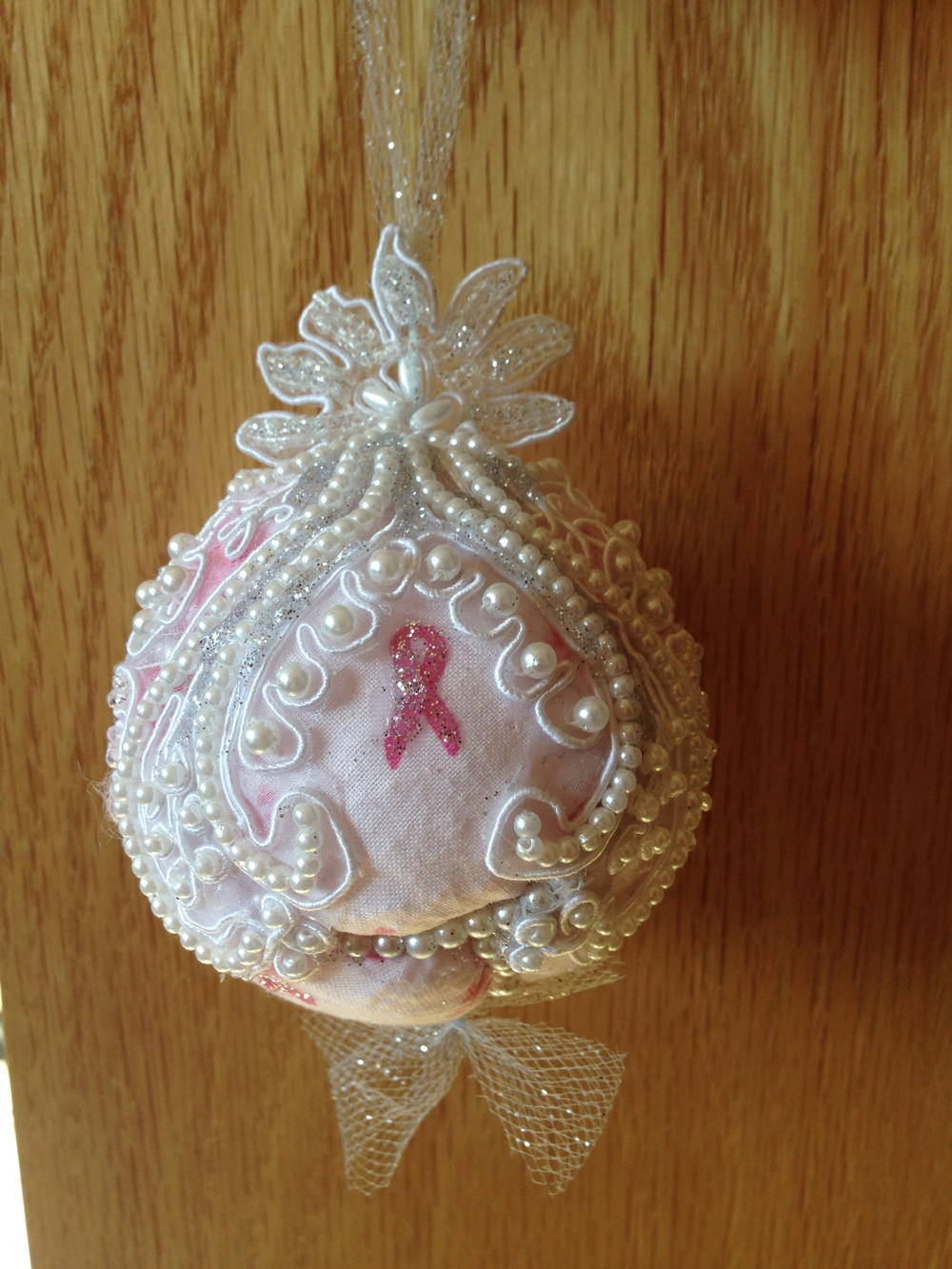 Breast Cancer Survivor DIY Ornament