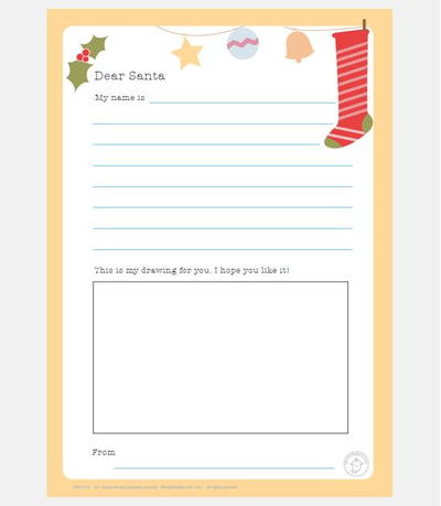 Printable Letter to Santa Templates