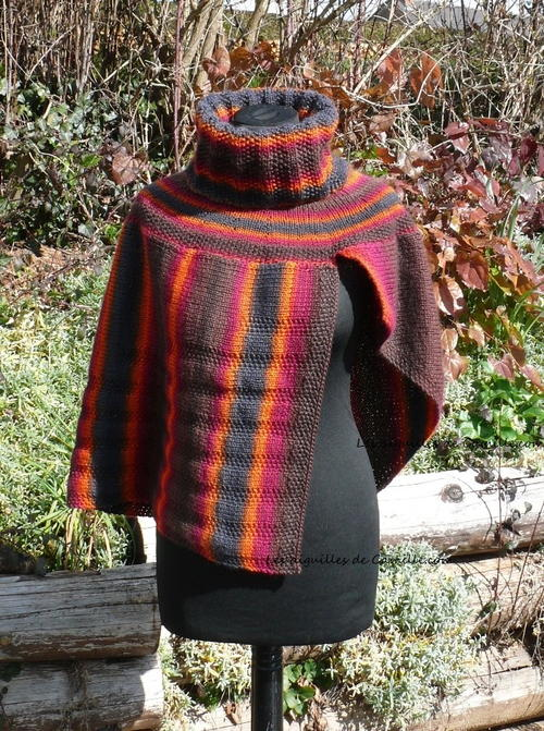 Fall Harvest Poncho