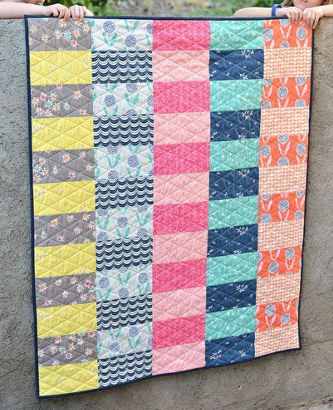 Simply Curious Baby Quilt Tutorial
