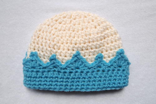 Crochet Crown Beanie  e9514ac1a40