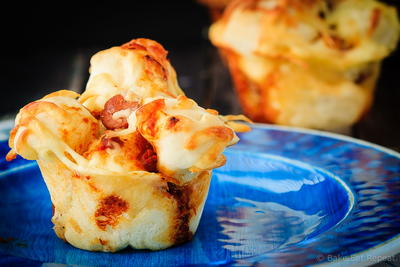 Easy Pull Apart Pizza Muffins