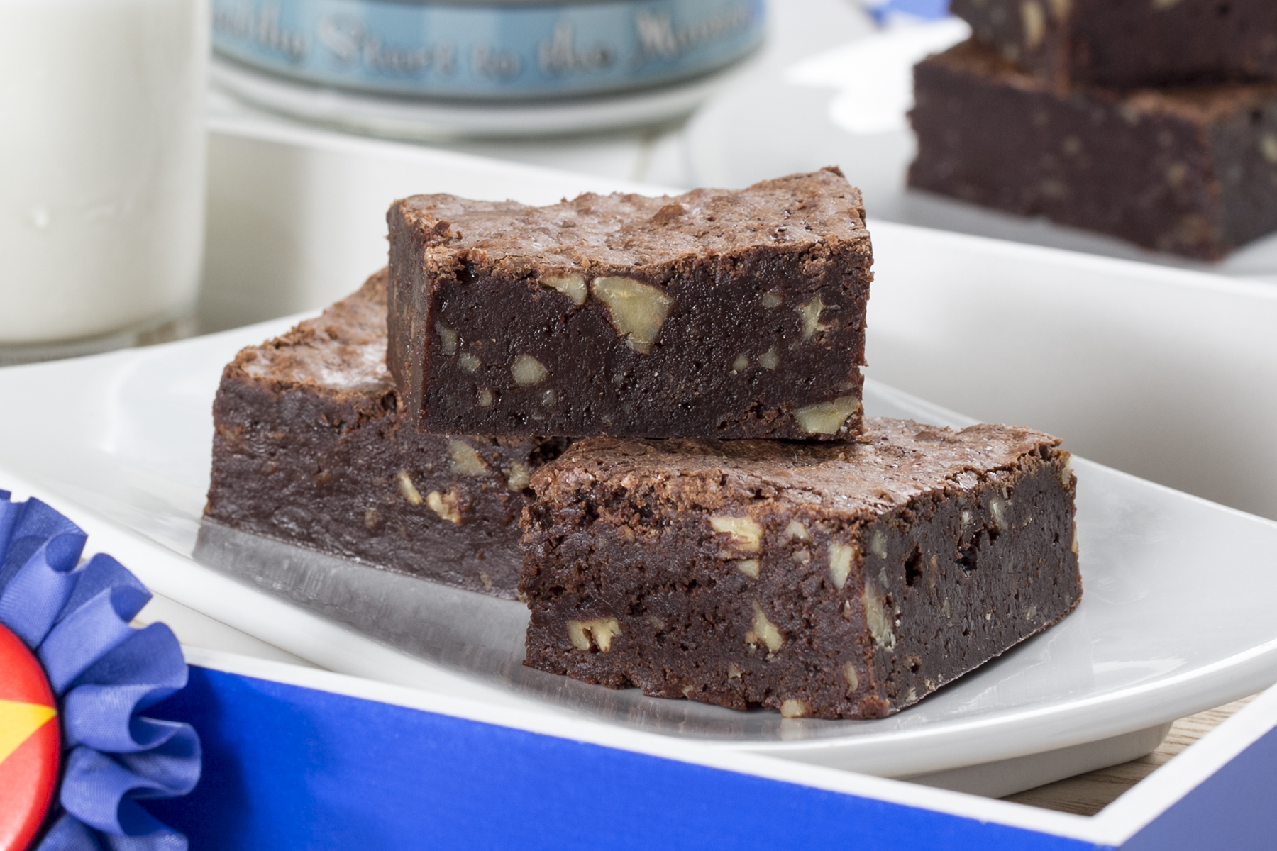 Blue Ribbon Brownies