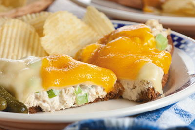 Fancy-Schmancy Tuna Melts