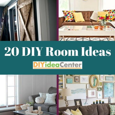 20 DIY Room Ideas