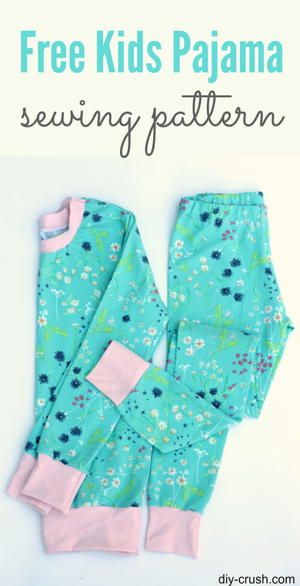 Kids Pajama Pattern