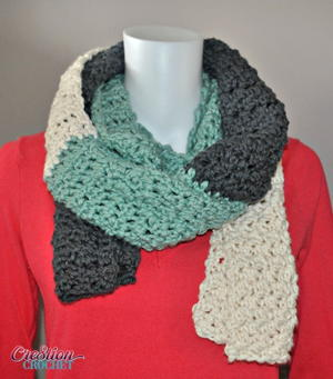 Mighty and Meaty Crochet Scarf