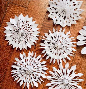 Most Beautiful Medallion Paper Snowflakes