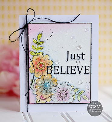 Just Believe Handmade Greeting Card