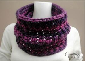 One Skein Crochet Cowl
