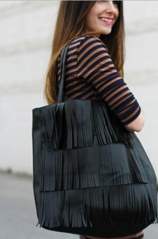 Boho Fringe Bag Pattern