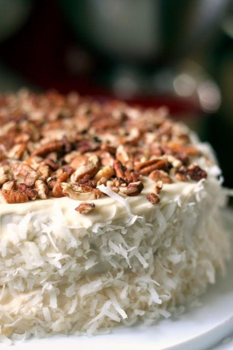 Grandma's Italian Cream Cake | FaveGlutenFreeRecipes.com
