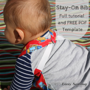 Reversible Stay-On Bib Pattern