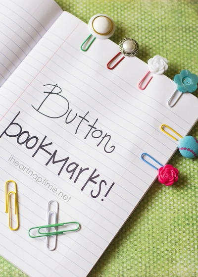 Fun and Quick Paperclip DIY Bookmarks