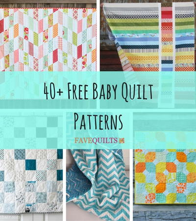 40+ Free Baby Quilt Patterns | FaveQuilts.com