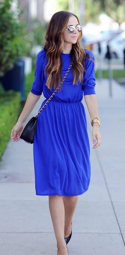 Maxi to Midi Dress Refashion