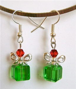 Pleasant Present Crystal Earrings