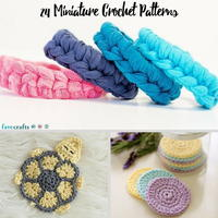 39 Miniature Crochet Patterns