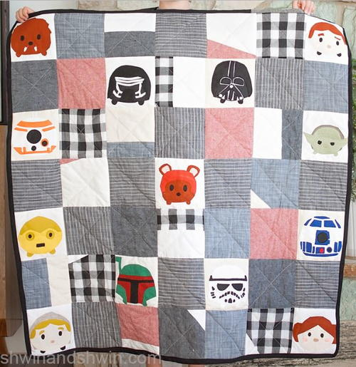 Force Be With You Quilt Pattern