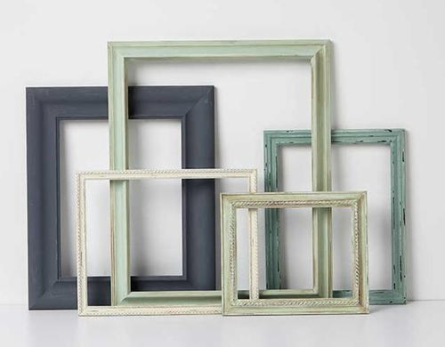 Chalk Painted DIY Photo Frame