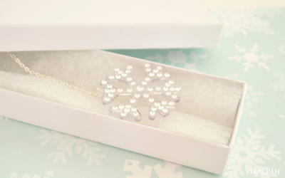 Wonderful Winter Snowflake DIY Necklace