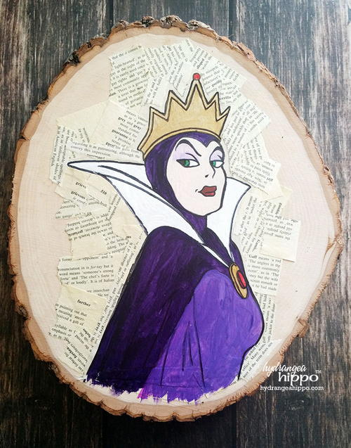 Diabolical Decoupage Disney Villains